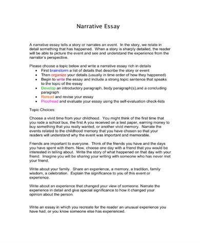 Pdf Free Premium Template Essay Narrative Internet Safety