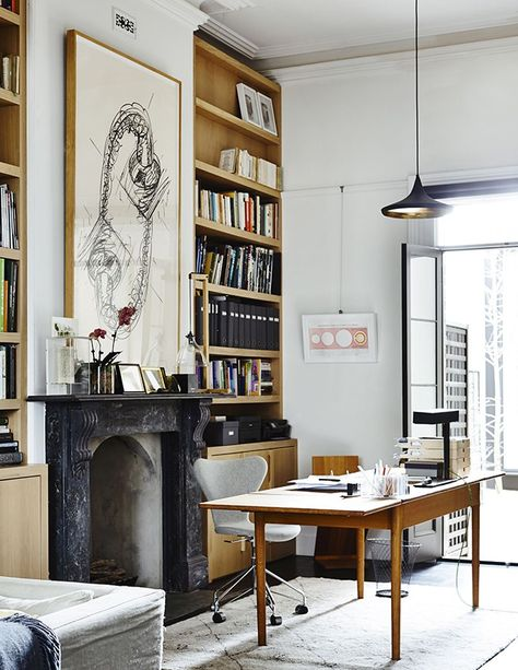 Inside A Modern Victorian Terrace Home In Melbourne Home Office