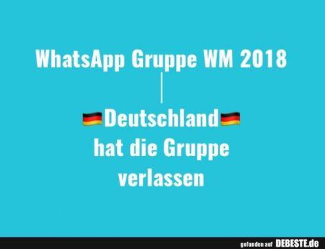 Whatsapp Gruppe Wm 2018 Lustige Bilder Spruche Witze
