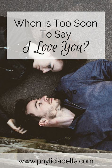 when should a christian couple say i love you