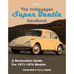 17 best vw bug images on pinterest vw beetles volkswagen beetles the volkswagen super beetle handbookhp1483 how to restore maintain and repair your vw super beetle covers all models 1971 to 1974 fandeluxe Images