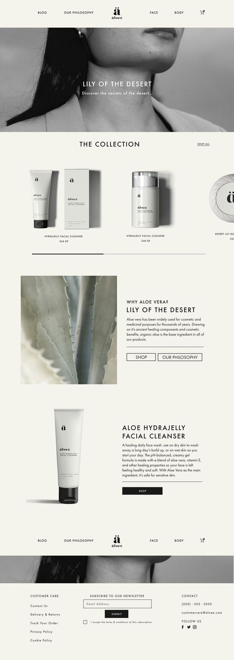 Modern, clean and natural skincare branding and cosmetic packaging. Simple and sophisticated, professional apothecary website and e-commerce. Simple neutral color palette, minimalist brand design, clean and modern web design. Web Design Trends, Design Websites, Ecommerce Web Design, Homepage Design, Corporate Website Design, Minimal Web Design, Flat Web Design, Modern Web Design, Website Design Minimalist