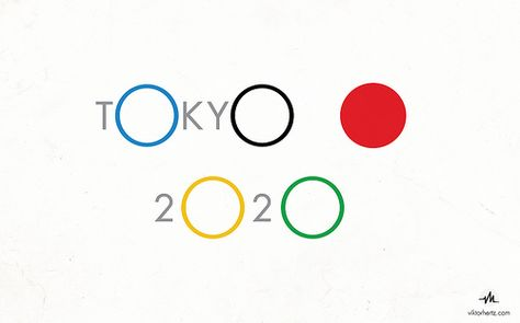 TOKYO 2020 OLYMPICS LOGO #remake #olympics