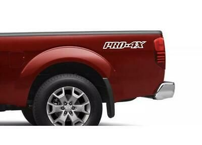 Nissan Frontier Pro 4x Body Decal Sticker New Custom 2pc Set Both Sides Truck De Ebay Truck Decals Car Decals Stickers Cars Trucks