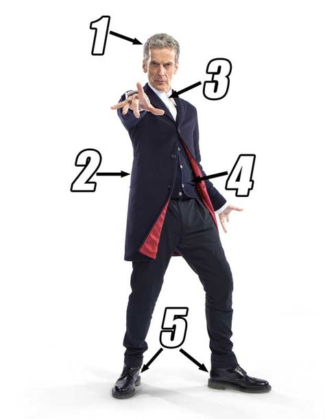 Peter Capaldi's new Doctor Who outfit analysed by fashion expert : He's a late 60s  skinhead