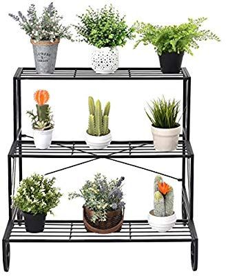 10 Awesome Diy Plant Shelf Design Ideas To Organize Your Indoor Garden Plant Stands Outdoor Wooden Plant Stands House Plants Decor