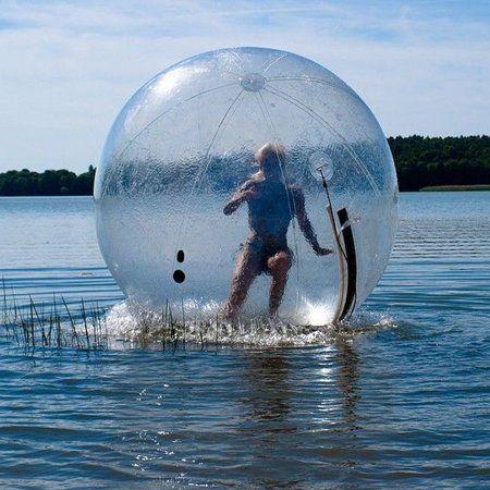 Pvc 2m 6 5ft Water Walking Inflatable Ball Zorb Ball German Zipper