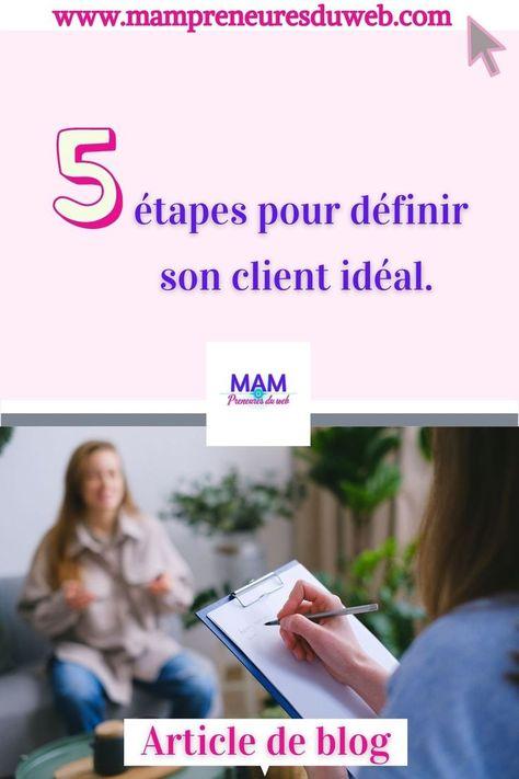 5 étapes pour définir son client idéal