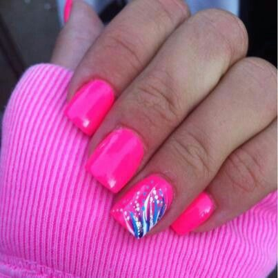 Nail Designs With Pink And Blue Image Collections Art - Pink White And Blue  Nail Designs - Pink And Blue Nail Designs Graham Reid