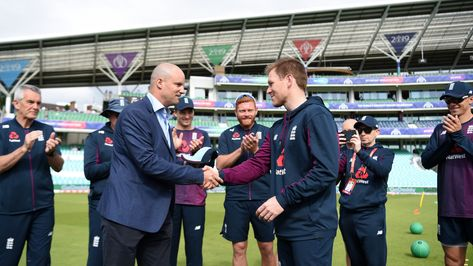 Eoin Morgan has earned the right to decide his own future - Andrew Strauss