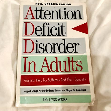 The Selling Of Attention Deficit >> Attention Deficit Disorder Adults Book Mercari Buy