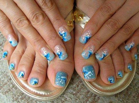 Abstract : Cute Nail Designs For Short Nails - Beautiful Toe Nail Art Designs