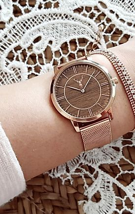 Am45 BF rosegold | timber and jack | Armbanduhr rosegold