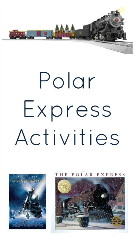 Polar Express Activities...ideas for family night, school activities, classroom parties or a homeschool theme #raisingreaders www.raisingreaders.org