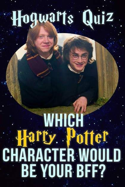 Quiz Which Harry Potter Character Would Be Your Bff Harry Potter Characters Harry Potter Buzzfeed Harry Potter House Quiz