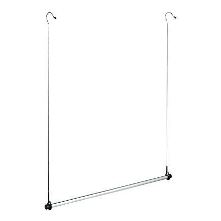 Hanging Closet Bar Tweet Adjustable Double Rod Closet Rod Whitmor Hanging Closet