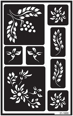 """Over /'n/' Over Reusable Stencils 5/""""x8/""""-celtic"""