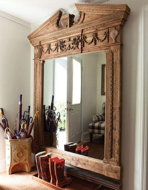 Glanzvolles Ambiente Durch Spiegel Deko Dekor Spiegel Schmucken