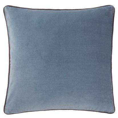 Kissenhulle Suri Graublau Dunkelgrau 100 Baumwolle Graublau