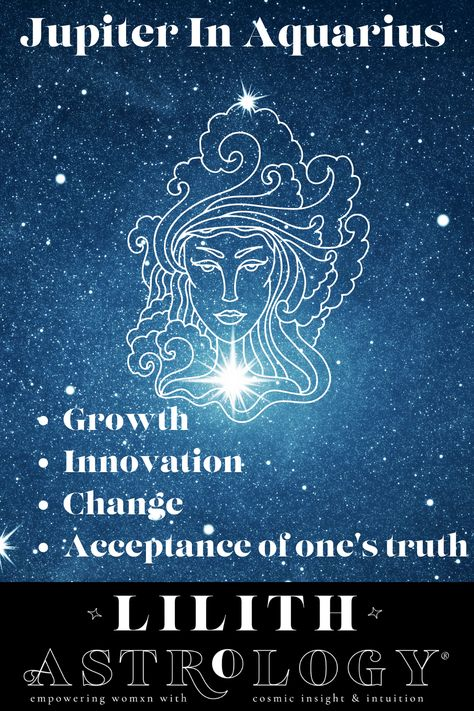 Jupiter is the planet of growth, expansion, and abundance. This shift into Aquarius is encouraging change and innovation in the structure of society in order to be of service to the collective. This won't be a smooth transition as there is a tense aspect to Uranus in Taurus, but overall change in society through this stressful period is imminent. In your own individual life, this will also represent change and much needed growth for the future. #jupiterinaquarius #astrology #lilithastrology