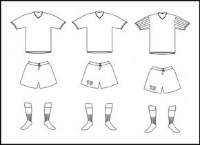 The Best Sketch Drawing Of Soccer Jersey Sports Coloring Pages