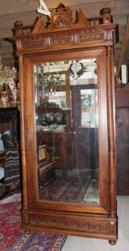 Bon Antique Walnut Armoire Best 2000 Decor Ideas