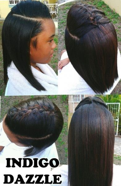 Relaxed, Trimmed and Styled Shared By Kurlene - Black Hair Information Community