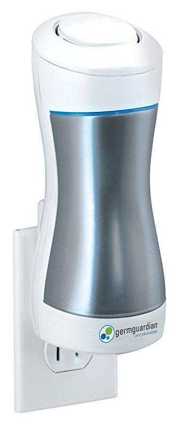 Germguardian Gg1000 Pluggable Uvc Air Sanitizer Room Deodorizer Portable Air Purifier Kills Germs Freshen Air Purifier Reviews Room Deodorizer Air Purifier