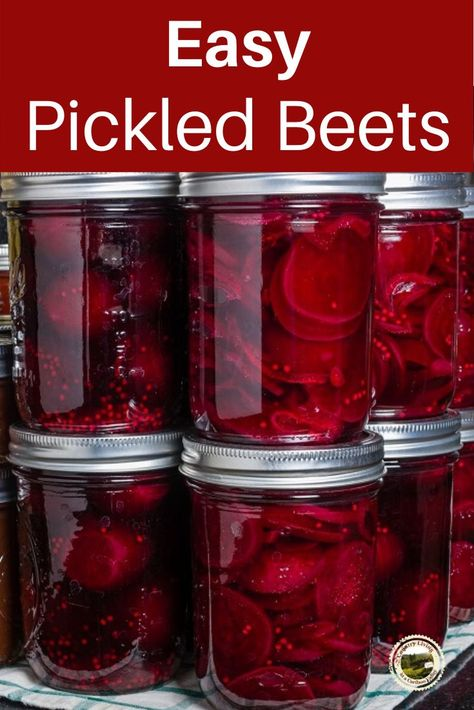 Here s an easy recipe for pickled beets Fast and simple to make pickled beets are great as a side dish Refrigerator Pickled Beets, Canned Pickled Beets, Canning Beets, Canning Vegetables, Canning Pickles, Recipe For Pickled Beets And Eggs, Beet Jelly Recipe With Jello, Homemade Pickled Beets Recipe, Canned Beets Recipe