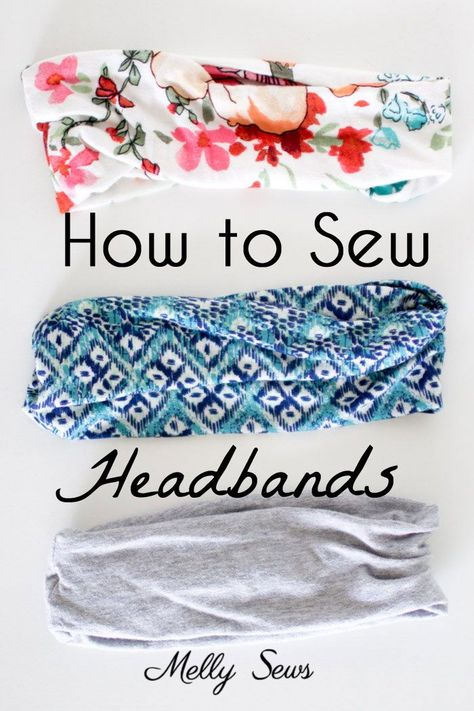 To make your own, you'll need: Stretchy knit fabric, 18 inches long by 4 to 8 inches wide. Your final headband will be half the width of your fabric minus about 1 inch, so keep that in mind to decide on the width you want to use. The one I'm wearing in this post is Read the Rest...