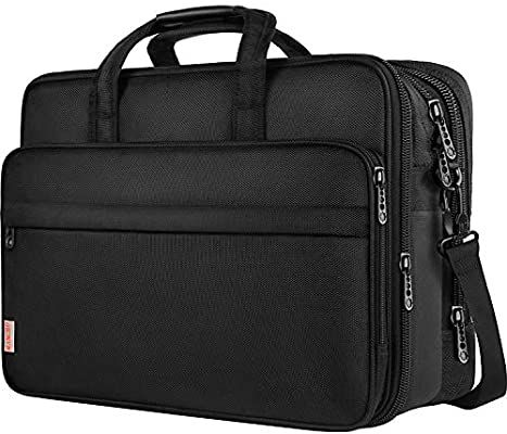 Amazon Com Taygeer 17 Inch Laptop Bag Large Business Briefcase For Men Women Travel Laptop Case Shoulder B 17 Inch Laptop Bag Laptop Shoulder Bag Laptop Bag