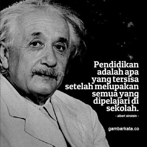 Kata Kata Bijak Albert Einstein Tentang Pendidikan