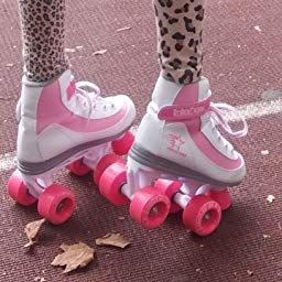 Amazon Com Firestar Youth Girl S Roller Skate Pink Camo Sports Outdoors Girls Roller Skates Pink Camo
