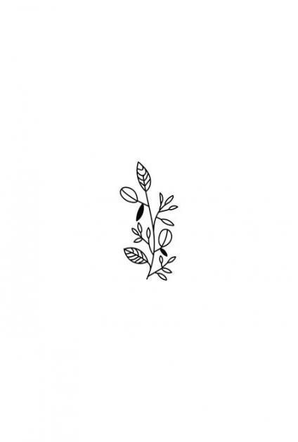 30 Ways To Draw Plants Leaves Leaf Drawing Flower Illustration Flower Logo