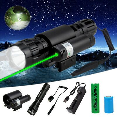 Advertisement Ebay 5000lm White Flashlight Green Red Laser Combo Sight Scope For 20mm Weaver Rails In 2020 Fun Sports Scopes Laser