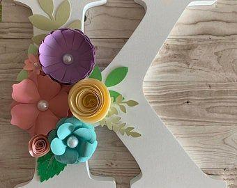Canvas 12x12 Paper Flower Canvas Paper Hydrangeas Paper Roses