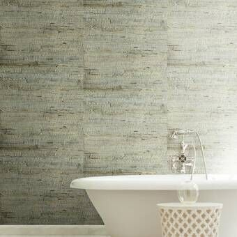 Reclaimed Wood Peel And Stick Wallpaper Roll Birch Lane Grasscloth Wallpaper Grasscloth Brick Wallpaper