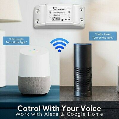 Ad Ebay Link Smart Home Wifi Wireless Timer Switch Module For Amazon Alexa Google Assistant In 2020 Smart Switches Smart Home App Remote