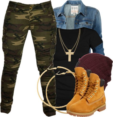 A fashion look from November 2012 featuring Full Tilt t-shirts, Fat Face jackets and Braun. Browse and shop related looks. Camo Outfits, Cute Swag Outfits, Tomboy Outfits, Tomboy Fashion, Teen Fashion Outfits, Mode Outfits, Look Fashion, Stylish Outfits, Winter Fashion