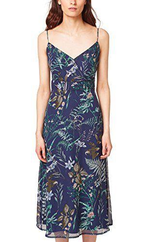 Esprit Collection Women S 058eo1e005 Dress Blue Navy 400 8 Manufacturer Size 34 Mit Bildern Kleider Kleider Fur Frauen Damen