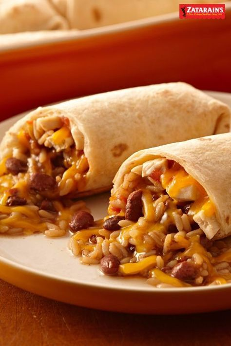 Red Bean Chicken And Cheese Burritos Recipe Easy Burrito Recipe Recipes Burritos Recipe
