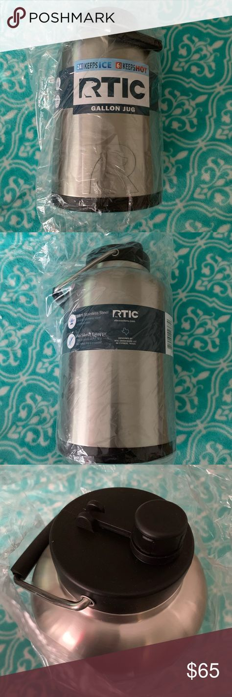 One Gallon Rtic Jug Nwt One Gallon Rtic Flask Jug Bundle 3 Or More And Save Rtic Other Rtic Gallon Jugs