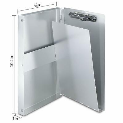 Sponsored Ebay Aluminum Clipboard With Storage Form Holder Portfolio Aluminum Metal Binder H Clipboard Storage Storage Aluminum Metal