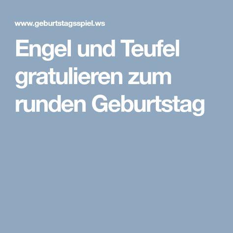 Engel Und Teufel Gratulieren Zum Runden Geburtstag Engel Und Teufel Sketche Zum 50 Geburtstag Lustiges Zum Geburtstag