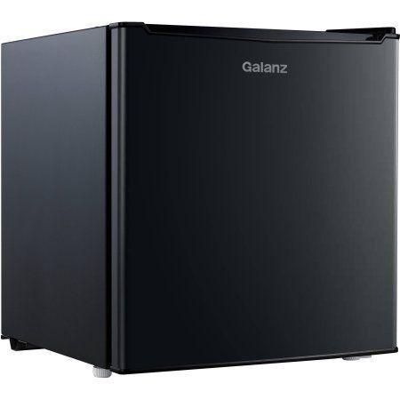 Galanz 1 7 Cu Ft One Door Refrigerator Black Wheretobuycheaprefrigerator Small Refrigerator Single Doors Mini Fridge