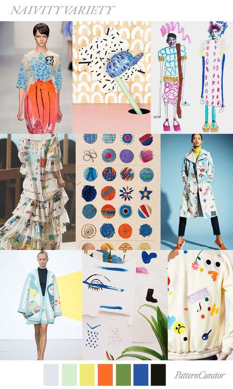 NAIVITY VARIETY by PatternCurator #FashionTrendsMoodboard