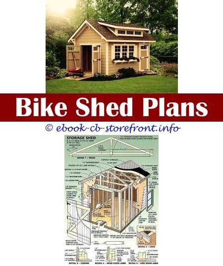 Outdoor Garbage Can Shed Plans