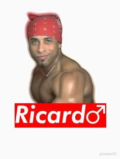 Ricardo Milos Supreme Gachimuchi By Giovanniiiii Ricardomilos Gachimuchi Memes Funny Supreme Shirt Design Meme Shirts Milo Memes