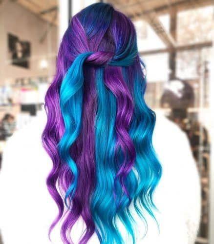 23 Brilliant Split Hair Color Ideas That Ll Make You Dye Your