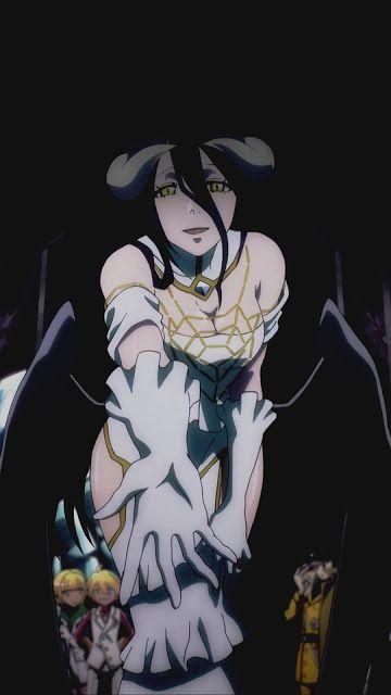 Albedo Overlord Wallpaper Korigengi Anime Wallpaper Hd Source Manga Anime Karakter Animasi Albedo
